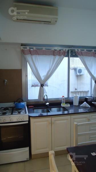 barrio norte, departamento 2 ambientes, alquiler temporario sin garantía!