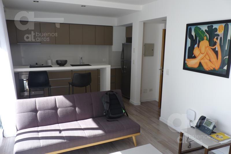 barrio norte. departamento 2 ambientes con balcón y terraza. alquiler temporario sin garantías.