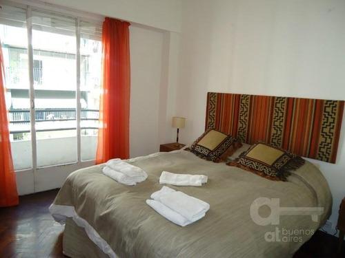 barrio norte, departamento 3 ambientes con balcón, alquiler temporario sin garantía!