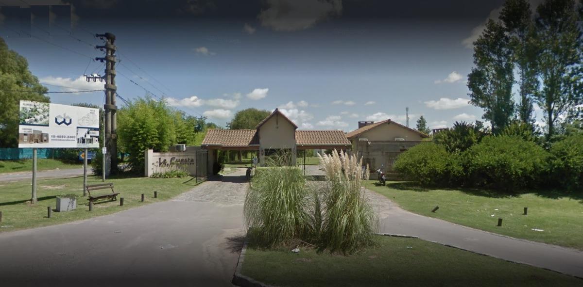 barrio privado la cuesta - casa 4 amb. cochera y piscina