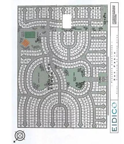 barrio san pablo pilar 2 lotes internos a área verde urgente