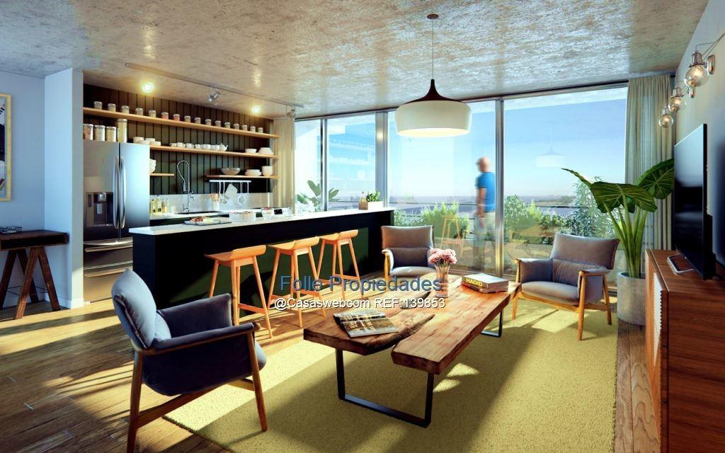 barrio sur venta apartamento 1 dormitorio a 1 de rambla