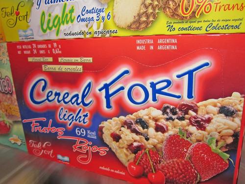 barrita cereal fort x24un - barata golosineria