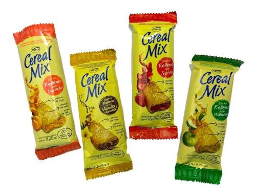 barrita cereal mix rellenas x18un- barata la golosineria