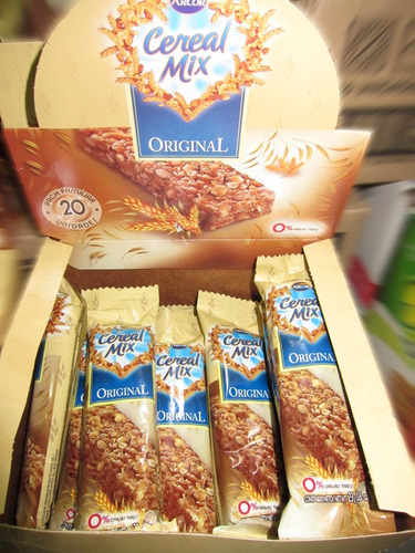 barrita cereal mix x20unid  - barata la golosineria