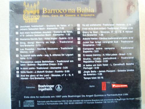 barroco na bahia cd cantos noite para uma feliz new y sellad