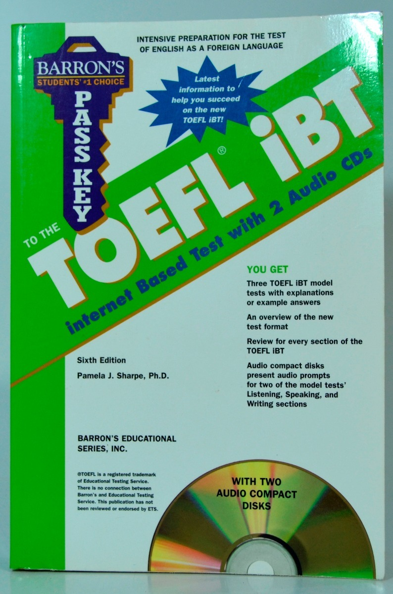 Barrons pass key to the toefl ibt r 7500 em mercado livre barrons pass key to the toefl ibt carregando zoom fandeluxe Choice Image
