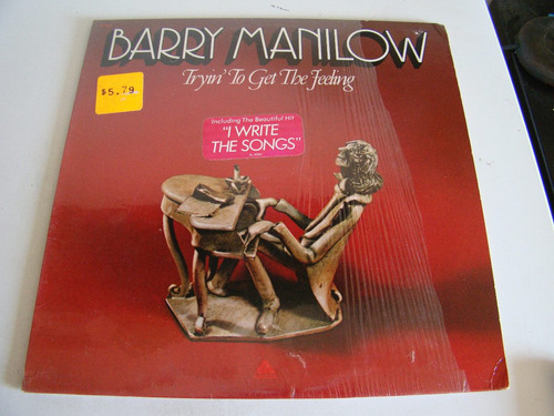 barry manilow tryin to get the feeling lp usa vinilo excelen