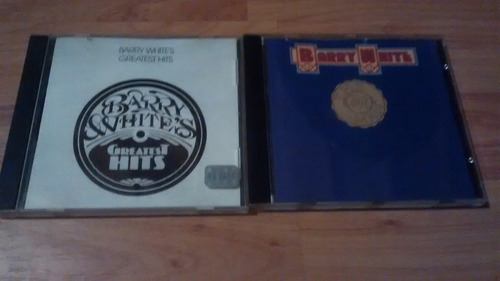 barry white lote 2 cds impecables
