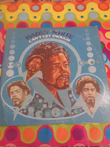 barry white lp can't get enouch 1974. importado u.s.a.