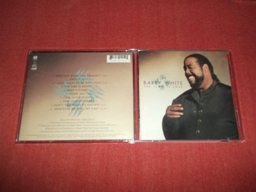 barry white - the icon is love cd usa ed 1994 mdisk