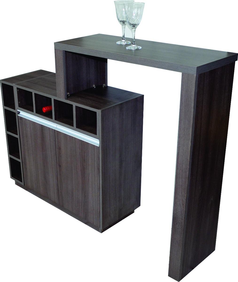 Barzinho Com Bancada E Adega Em Mdf Casa M Veis Sala R 775 00 Em  -> Sala Pequena Com Barzinho