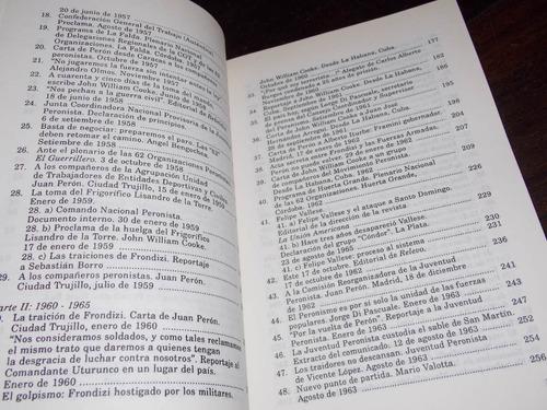 baschetti documentos 1955 1970 resistencia peronista 1997