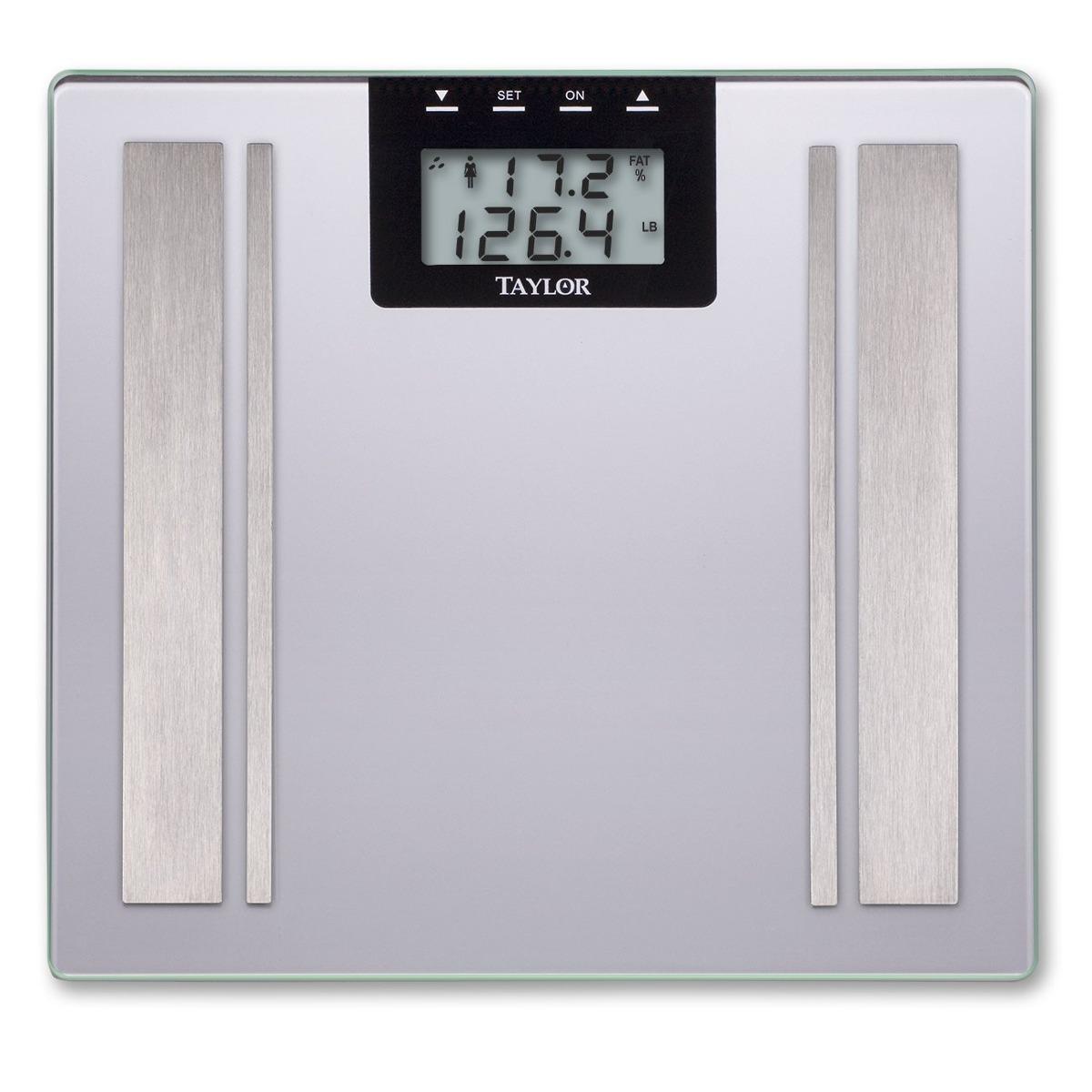 B scula balanza de ba o digital con medidor grasa corporal - Mejor bascula de bano ...