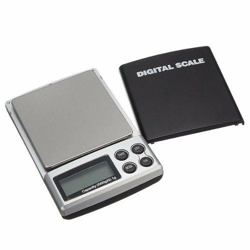 Bascula balanza digital 2 kg 2000 gr gramos 0 1 envio for Balanza cocina 0 1 g