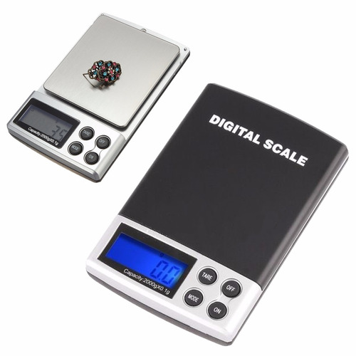 bascula balanza digital 2000 gr gramos 0.1 modelo tk43