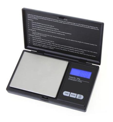 bascula bolsillo portatil 500 gr  div 01g digital plata obi