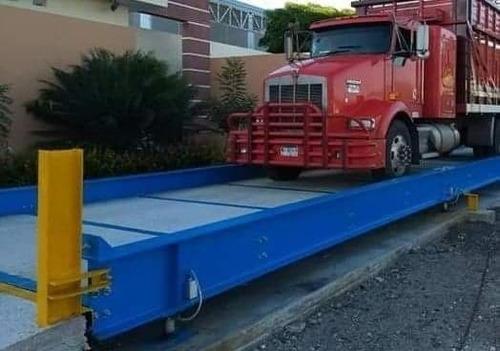bascula camionera