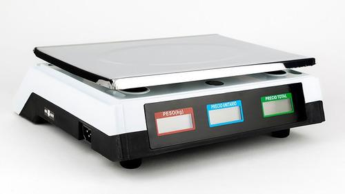 bascula comercial 40 kilos pantalla lcd función tara