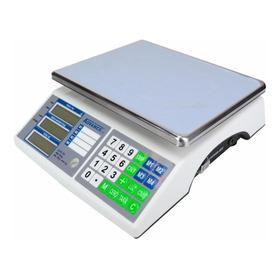 Báscula Comercial Digital Advance Base-a 30 Kg 110v Plateado