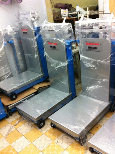bascula de 500 kg, plataforma industrial, mecanica,