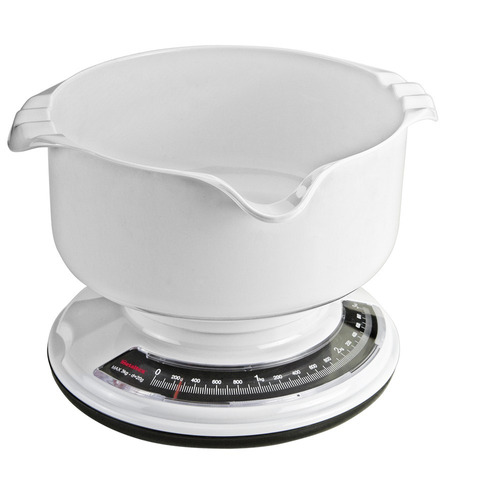 báscula de cocina analógica metaltex capacidad 3 kg