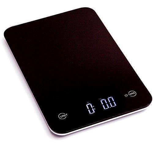 bascula de cocina digital profesional ozeri touch