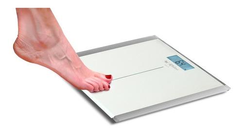 báscula de vidrio templado personas hasta 180 kg kg/lb