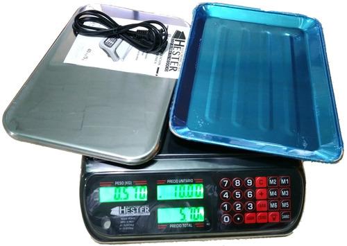 bascula digital 40kg con 2 platos cuchillo y envio gratis