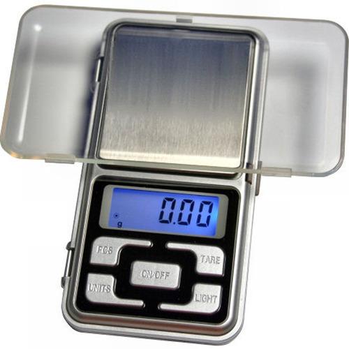 báscula digital balanza electrónica 200 gramos 0.01 exacto