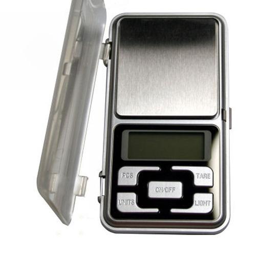 báscula digital balanza electrónica 500 gramos 0.1 500g ee