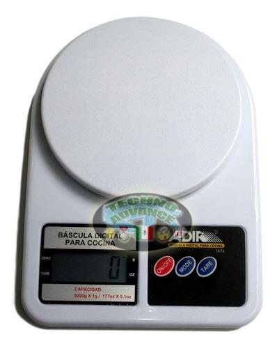bascula digital con pantalla lcd hasta 5 kgs adir!! lbf
