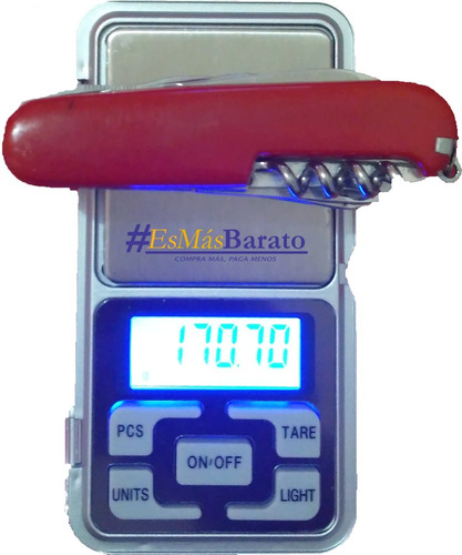 bascula  digital gramera 500 g a 0.01 gr joyeria dulce
