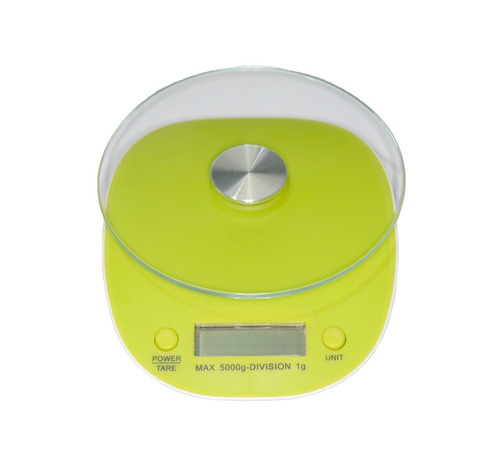 bascula digital gramera multiusos cocina 1 gr a 5kg verde