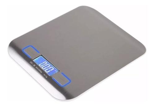 bascula digital para cocina acero inoxidable 5kg gramera