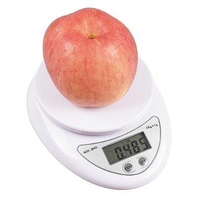 Bascula digital para cocina de 1gr a 5kg 1 x 5000 gramos - Bascula de cocina barata ...