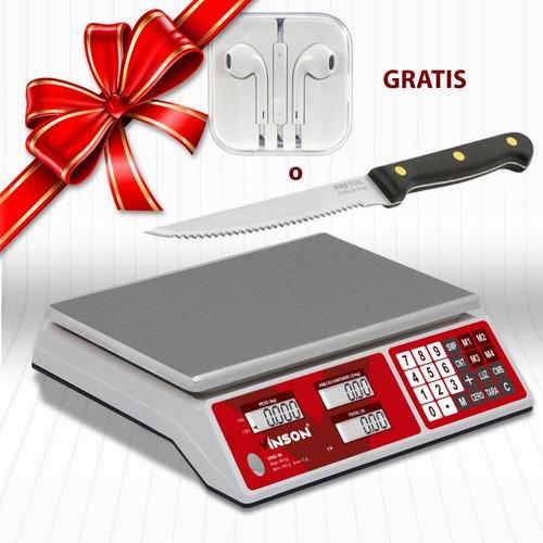 bascula digital vinson 40 kg manos libres o cuchillo gratis