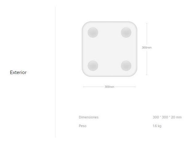 Báscula Digital Xiaomi Mi Body Composition Scale Original - $ 119.000 en Mercado Libre