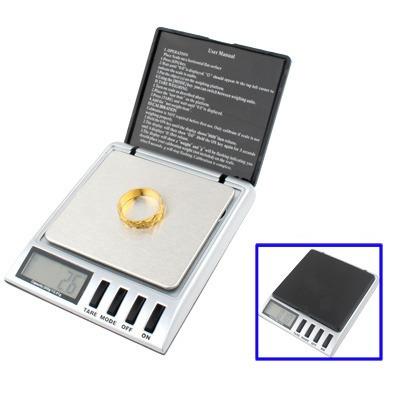 bascula electronica joyeria digital bolsillo 500gx0.1g