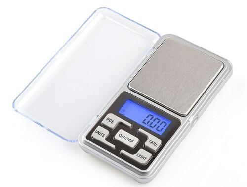 bascula gramera digital de 0.1gr x 500 gramos +