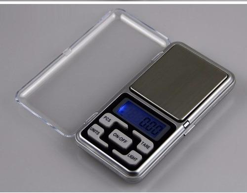 bascula gramera digital de joyería de 1 a 500 gramos