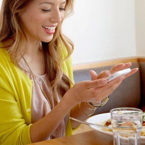 bascula inteligente fitbit aria wifi grasa digital blanco