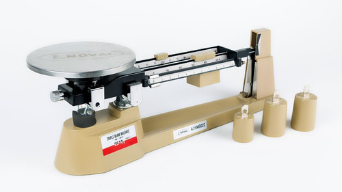 báscula - laboratorio de triple brazo mb2610
