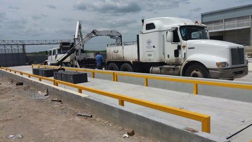 bascula metrology camionera defosa 18metros,100ton concreto