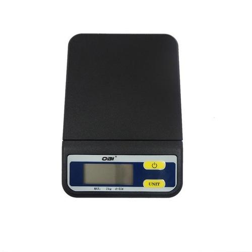 bascula multiusos digital de 2kg gramera graduación de 0,1gr