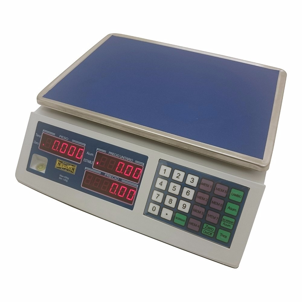 Bascula onix 3 digital 40 kg pesar productos cocina xxbas for Basculas digitales para cocina