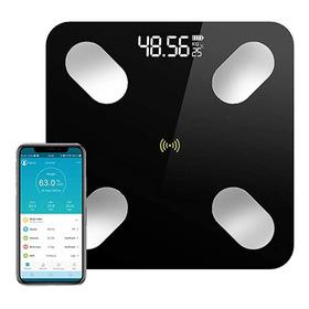 Báscula Para Grasa Corporal Peso Calorias Con App Bluetooth