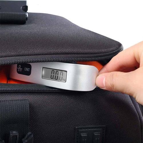 báscula para maletas digital lcd balanza equipaje rf 191