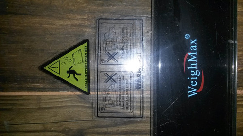 bascula pesa digital inteligente vidrio resistente a impacto