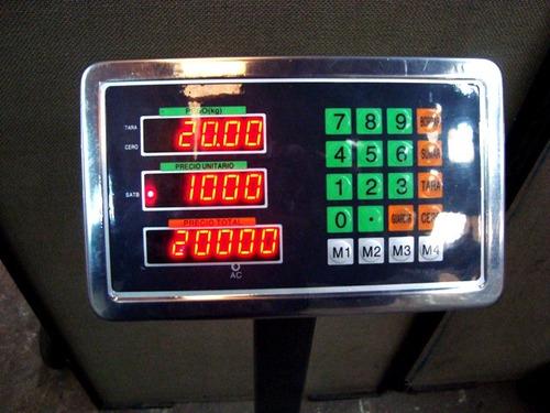 báscula plataforma balanza tcs-500-a electrónica